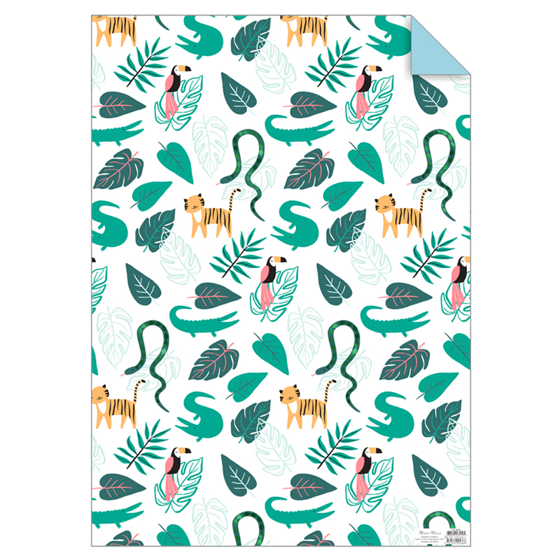 Dschungel Geschenkpapier