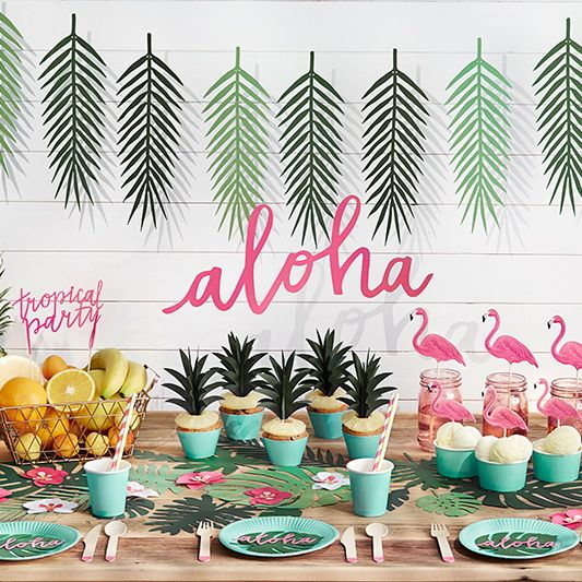 Aloha Party Girlande