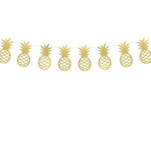 Ananas Girlande