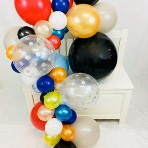 Ballongirlande Weltraum und Superheld