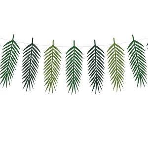 Blätter Girlande