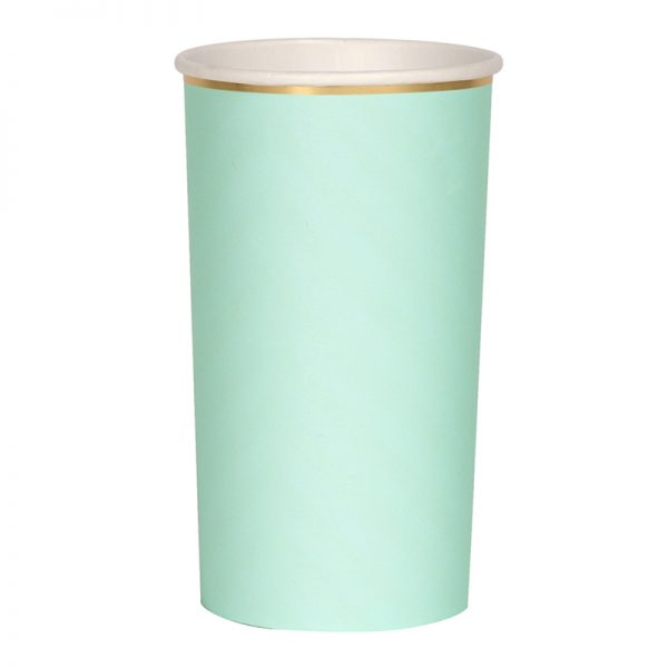 Becher mint gold