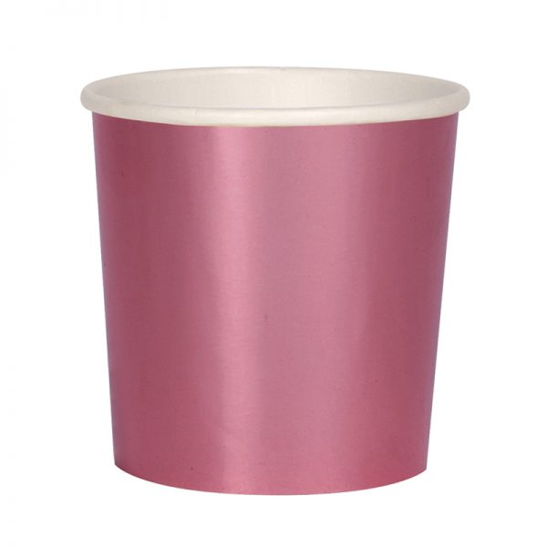Cocktail Becher pink