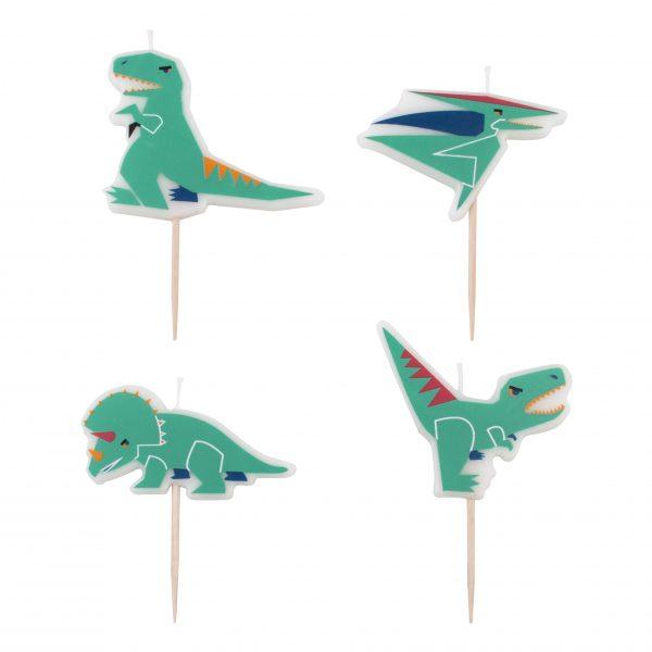 Dinosaurier Kerzen