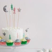 Cupcakeset Tannenbaum