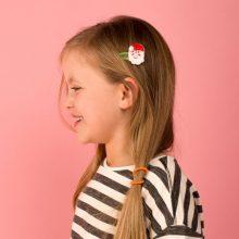 Haarspangen Weihnachtsmann