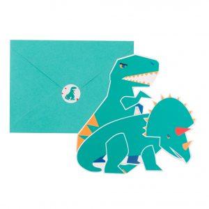 Dinosaurier Einladungen