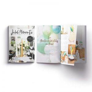 JubelMoments Magazin und Postkarten