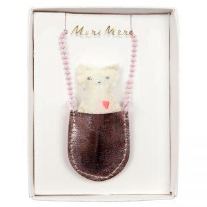 Halskette Katze