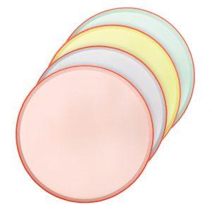 Teller pastell