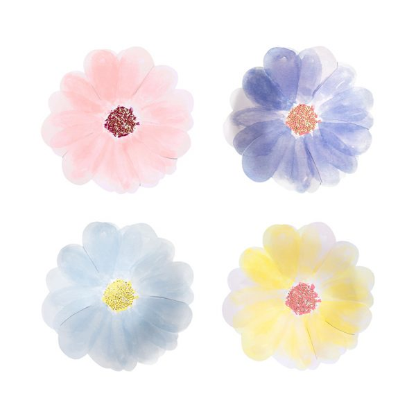 Blumen Teller