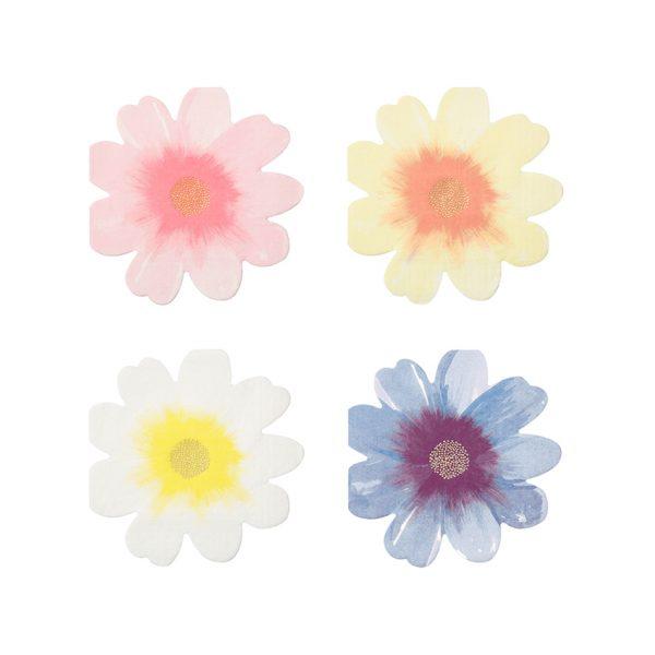 Blumen Servietten