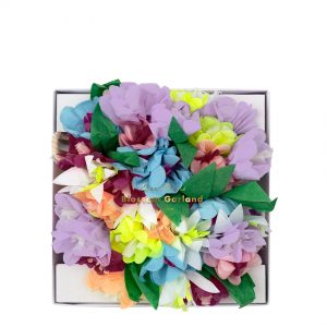 Blumen Girlande