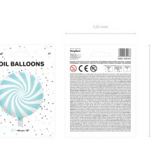Folienballon Candy blau