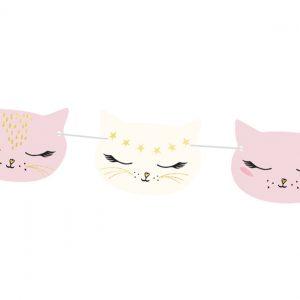 Katzen Girlande