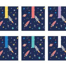 Weltraum Geschenktüten