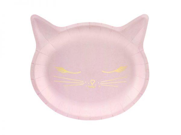 Katzen Teller