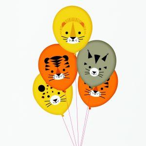 Ballons Dschungeltiere