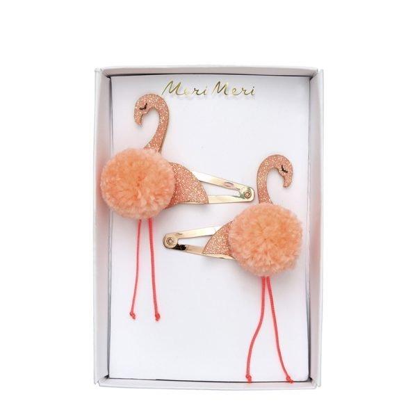 Flamingo Haarspangen