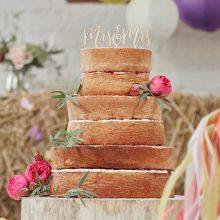 Cake Topper Mrs und Mrs