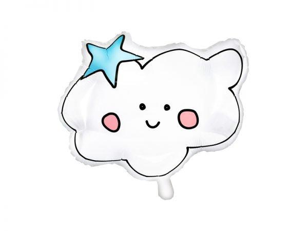 Wolken Folienballon