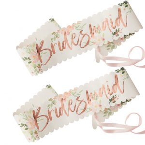 Bridesmaid to be