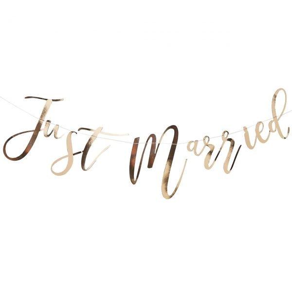 Girlande Just Married