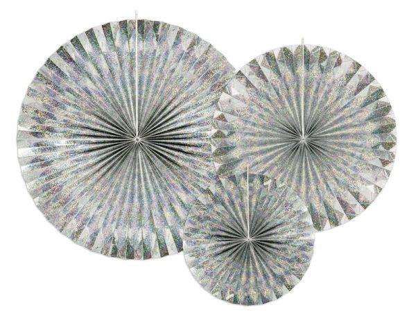 Papierfächer holographic