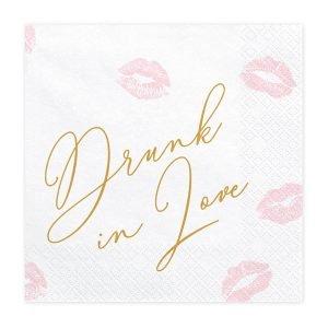 Servietten Drunk in love