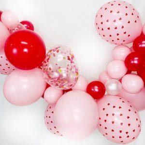 Ballongirlande Herz