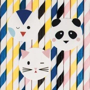 Panda Strohhalme