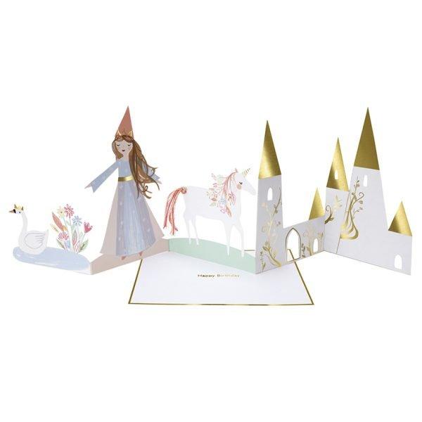 Prinzessinnen Karte