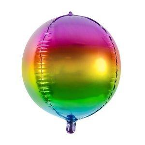 Kugelballon Regenbogen ombre