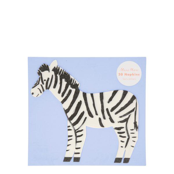 Zebra Servietten