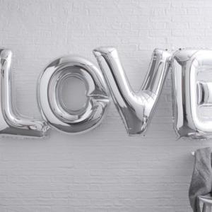 Ballons Buchstaben