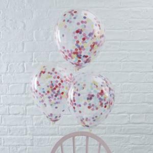 GR Konfetti Ballon bunt