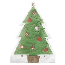 Weihnachtsbaum Servietten